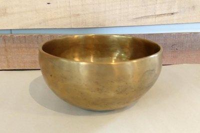 Klankschaal ±14 cm inclusief klopper