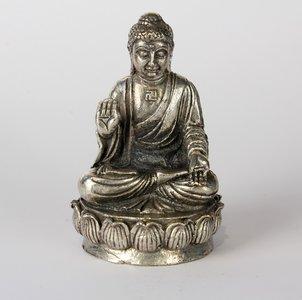Boeddha Japans op lotus 5 cm