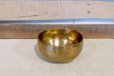 Klankschaal ±12 cm inclusief klopper